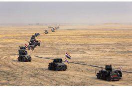 fuerzas iraquies bombardean al grupo ei cerca de mosul