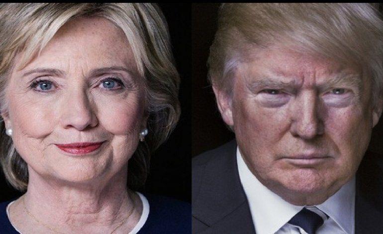 Hillary y Trump hacen campaña en los estados claves a solo 5 días de las elecciones