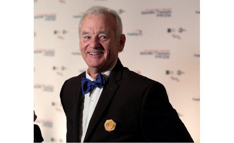 Bill Murray recibe el máximo honor a la comedia
