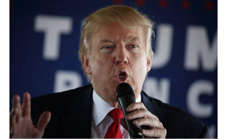 Trump insiste en que las encuestas son falsas y va ganando