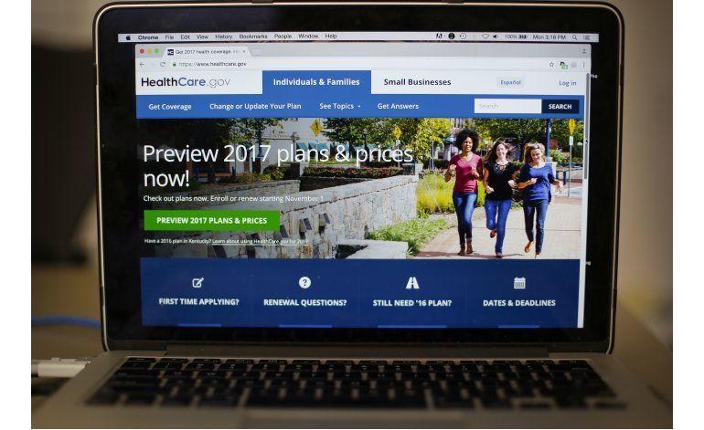 EEUU: Subirán primas de seguros de HealthCare.gov