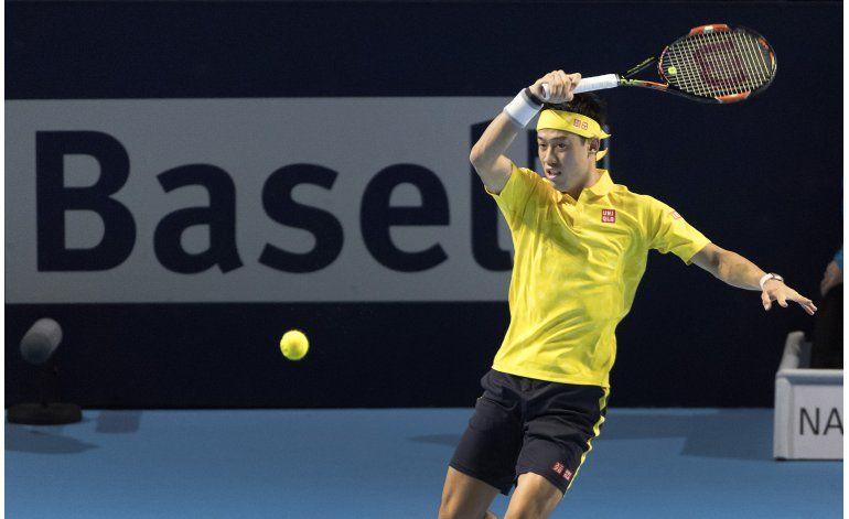 Tras lesión, Nishikori vuelve triunfal en Basilea