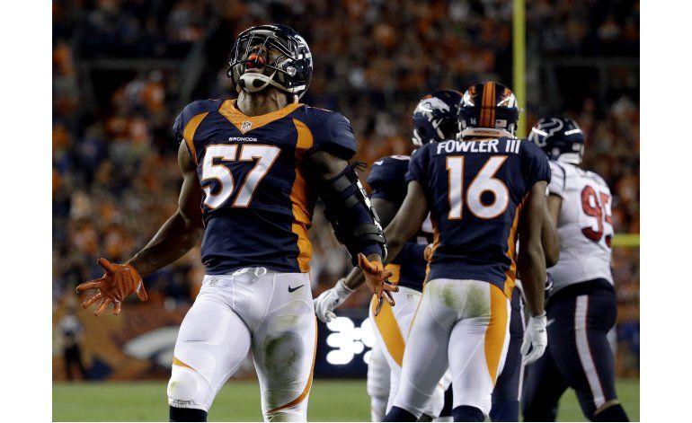 Broncos castigan a su ex quarterback y vencen a Texans