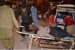 pakistan: 59 muertos en el ataque a academia de policia