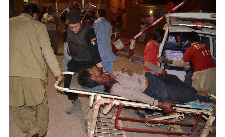 Pakistán: 61 muertos en ataque miliciano a academia policial
