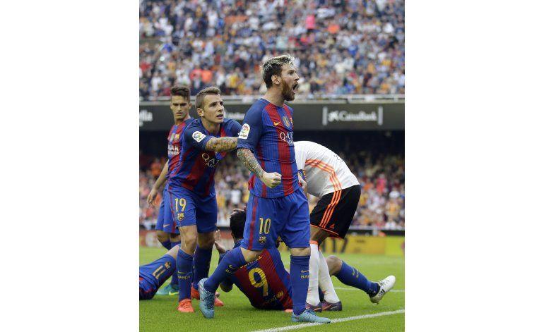Messi en gran arranque, mejor que trío madridista