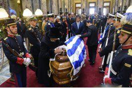 uruguay despide a expresidente jorge batlle
