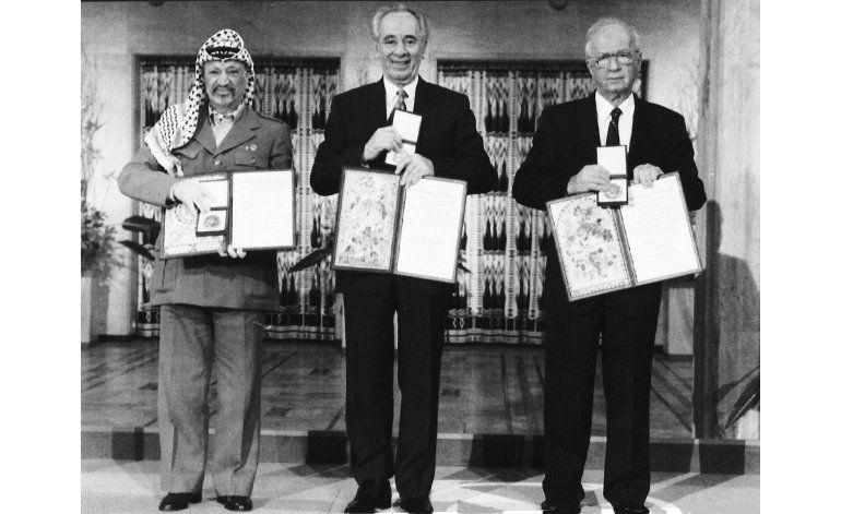 Museo palestino exhibirá el Nobel del líder Yasser Arafat