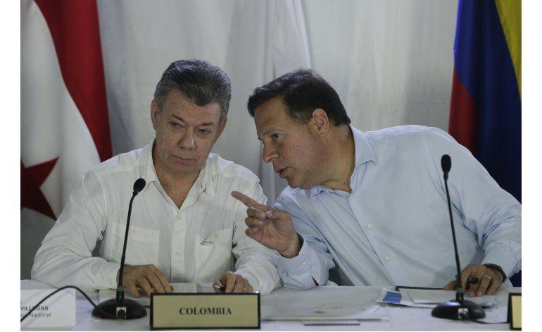Panamá y Colombia instalarán bases de seguridad en frontera