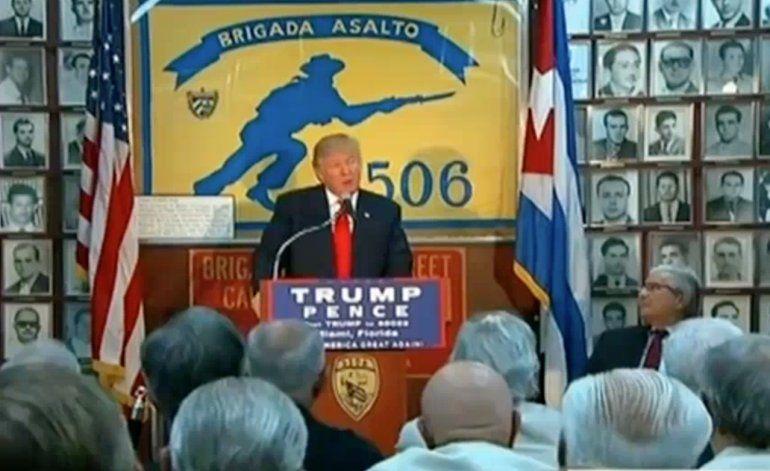 Colaboradores de Trump:El gobierno cubano tendrá que cambiar