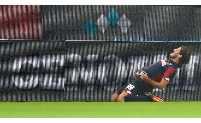 Milan, goleado por Genoa, desperdicia oportunidad