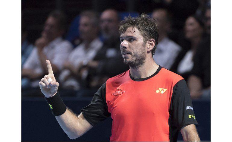 Wawrinka avanza en Basilea; caen Raonic y Dimitrov