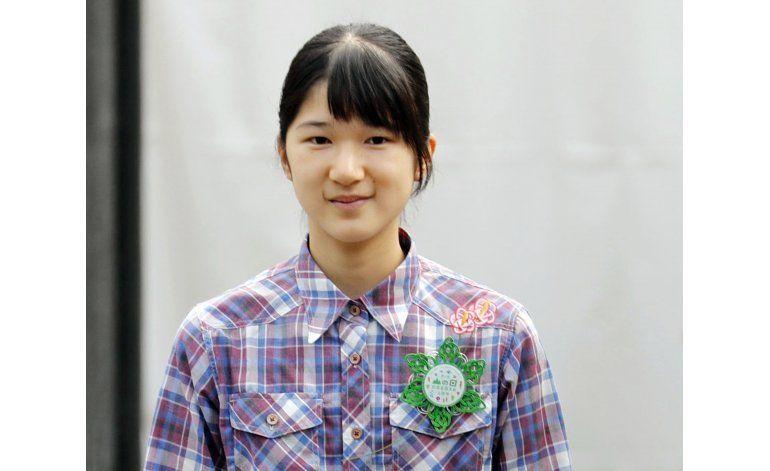 Princesa japonesa falta un mes a clase por motivos de salud