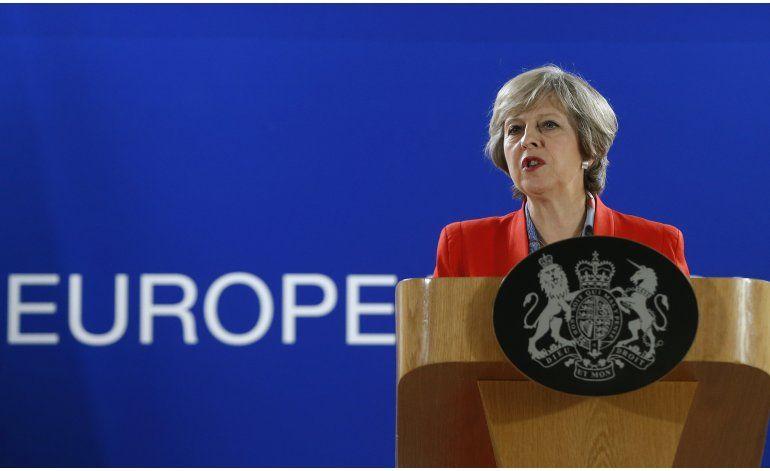 Theresa May advirtió contra el Brexit en discurso filtrado