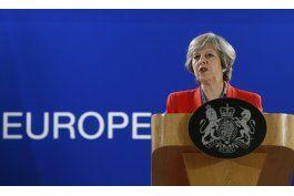 theresa may advirtio contra el brexit en discurso filtrado