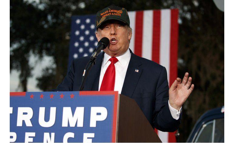 Trump parece enfocarse en planes postelectorales