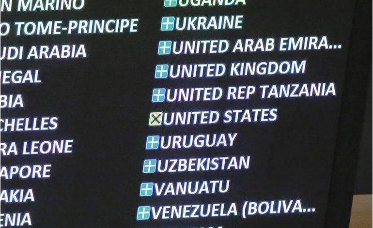 EEUU se abstiene de votar en la ONU sobre resolución contra el embargo a Cuba