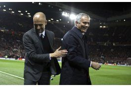 mourinho y el man u vencen al city de guardiola