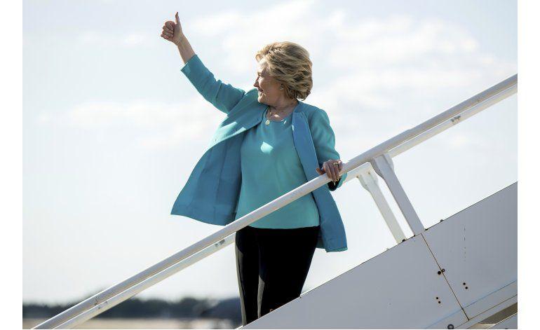 Encuesta AP: Clinton parece enfilarse a contundente triunfo
