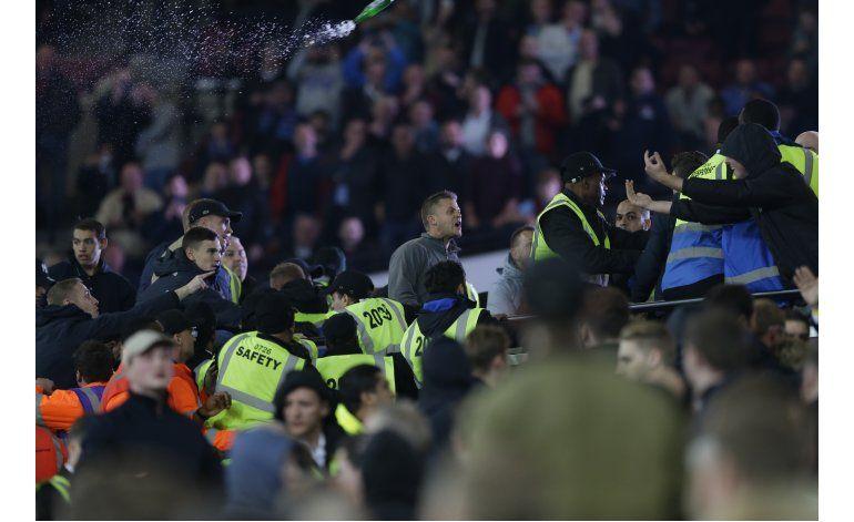 Más hechos de violencia en nueva casa del West Ham