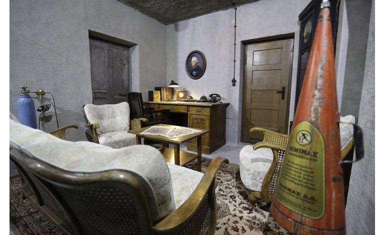Museo en Berlín exhibe réplica del búnker de Hitler