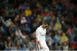 cristiano ronaldo continua en sequia goleadora con el madrid