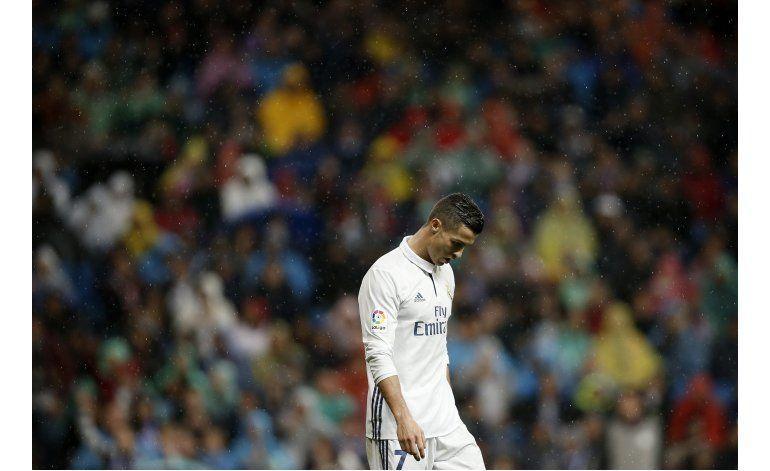 Cristiano Ronaldo continua en sequía goleadora con el Madrid