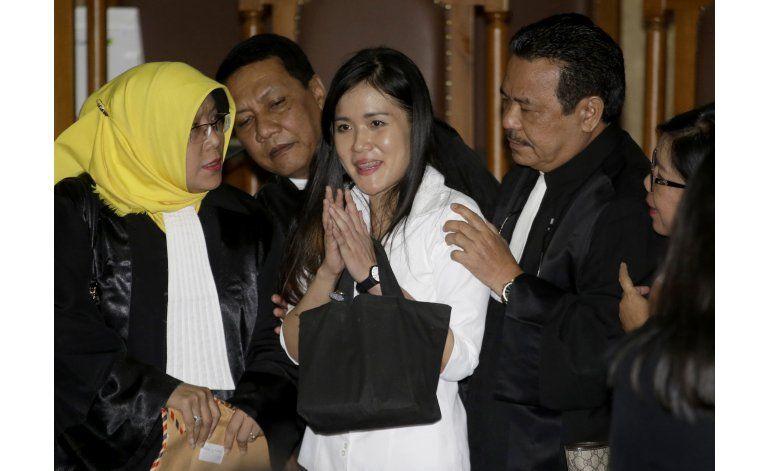 Indonesia: Asesina con cianuro recibe 20 años de prisión