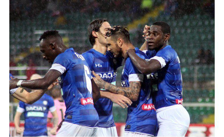 Con 2 de Fofana, Udinese vence 3-1 a Palermo