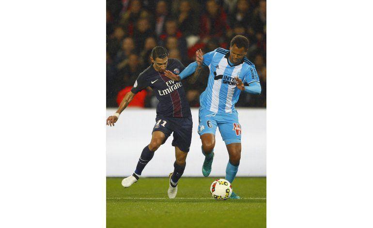 Di María no logra brillar sin Ibrahimovic en PSG