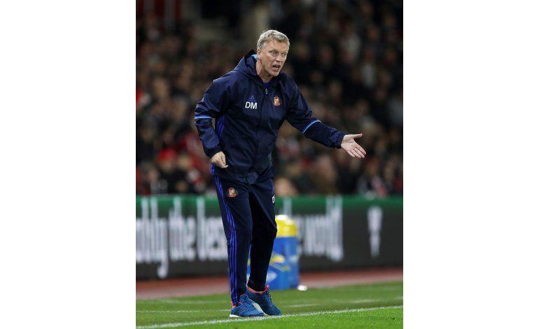 Reputación de Moyes sufre nuevo golpe en Sunderland