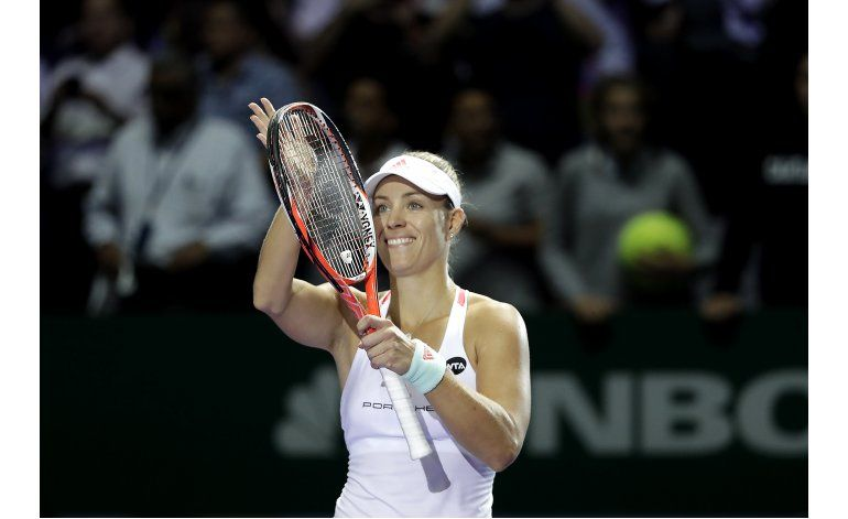 Kerber y Cibulkova avanzan a semifinales de Copa WTA
