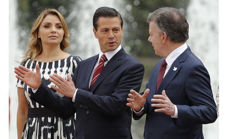 Peña Nieto realiza visita oficial a Colombia