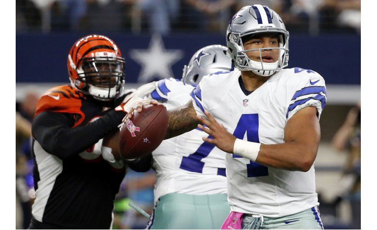 Eagles y Cowboys, un duelo de novatos por la cima el Este