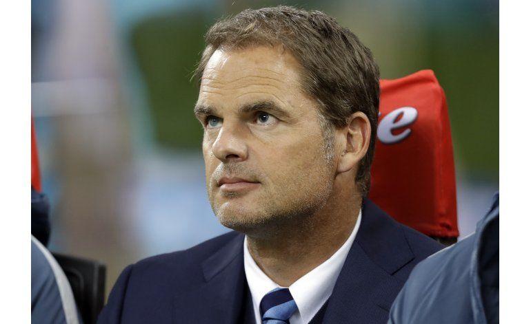 Dirigentes de Inter respaldan al técnico De Boer