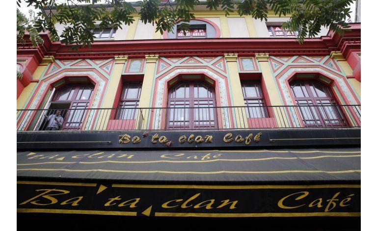 Reabre sala de conciertos que fue lugar de ataques en París