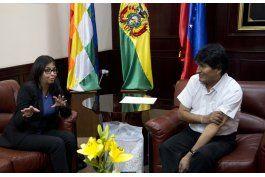 bolivia y venezuela denuncian presiones politicas de eeuu