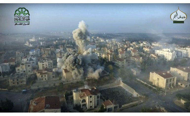 Fuerzas sirias lanzan contraofensiva en Alepo
