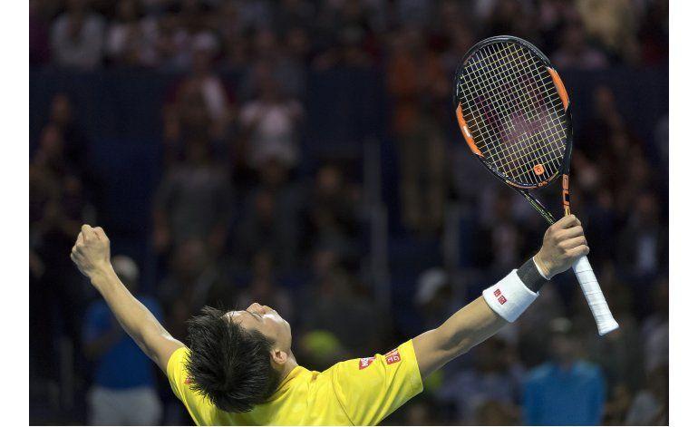 Nishikori avanza a la final en Basilea