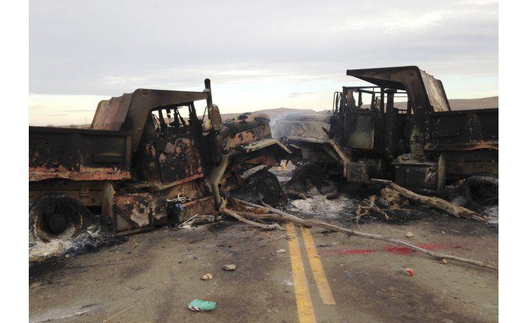 Tensa calma tras protestas por oleoducto en Dakota del Norte