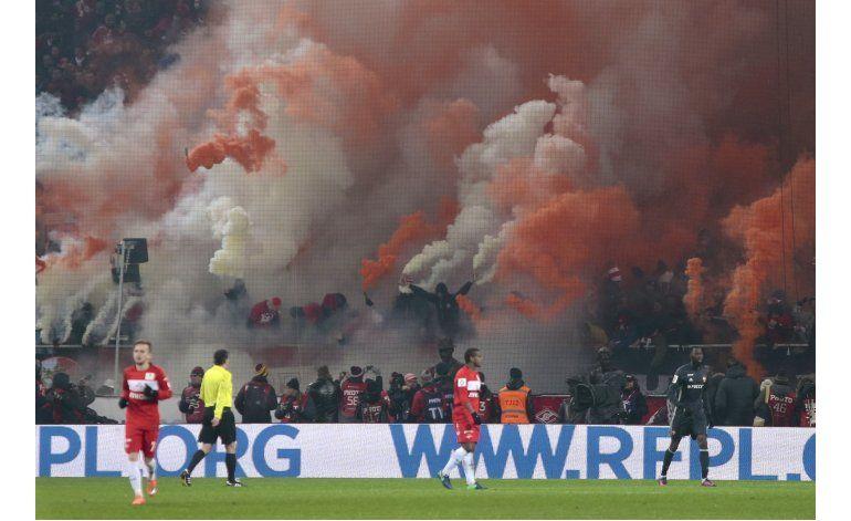 Violencia empaña derbi de Moscú entre Spartak y CSKA