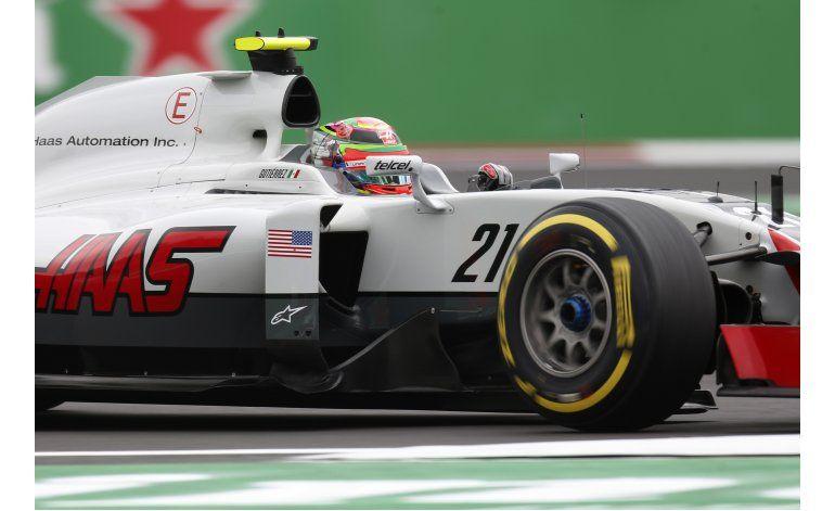 Gutiérrez vive otra mala tarde en el GP de México