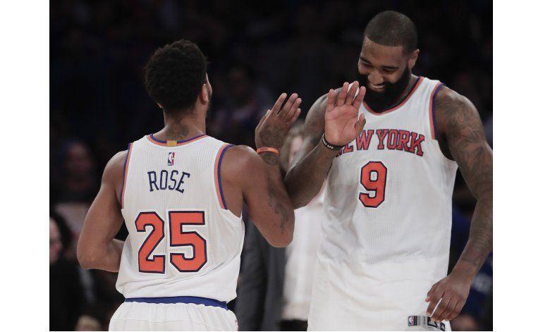 Porzingis, Carmelo y Knicks vencen a Grizzlies