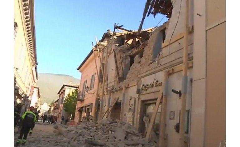 Sismo más poderoso en 35 años sacude centro y sur de Italia