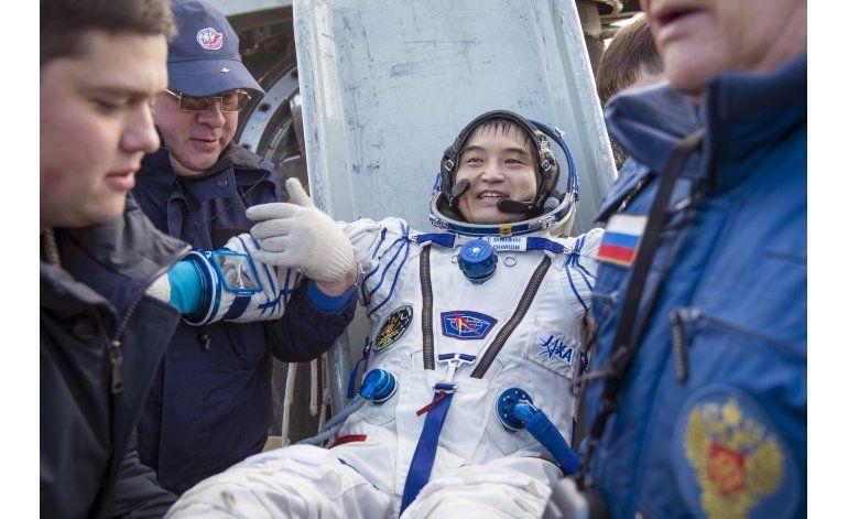 Regresa a la Tierra la cápsula espacial Soyuz