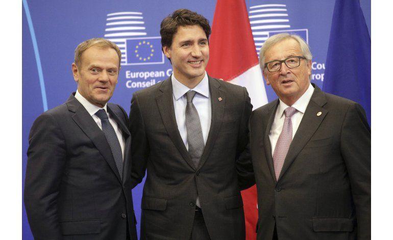 UE y Canadá firman acuerdo comercial