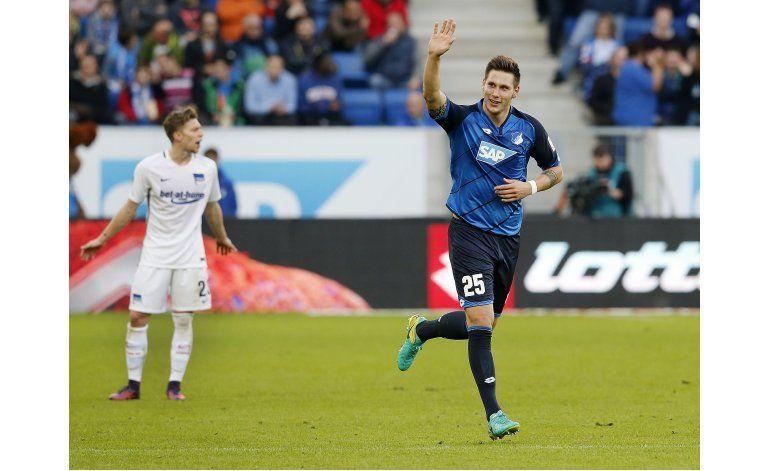 Hoffenheim supera 1-0 a Hertha Berlín en la Bundesliga