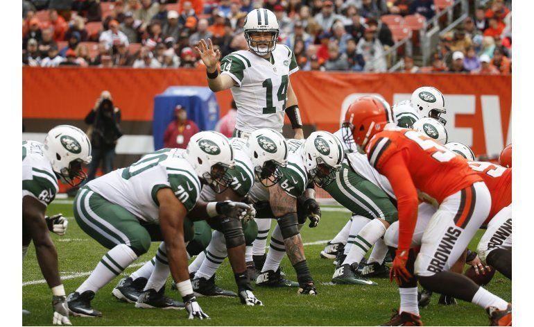 Jets remontan para derrotar a unos Browns sin victorias