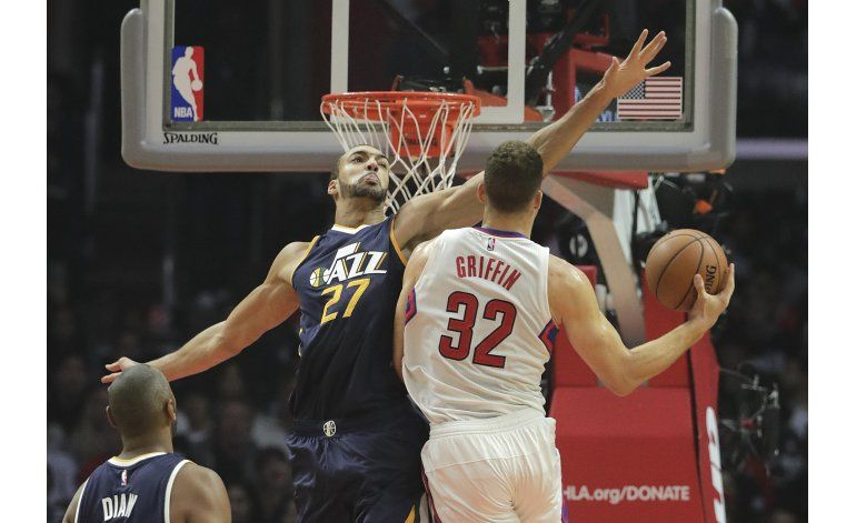 Rivers y Griffin lucen en victoria de Clippers sobre Jazz