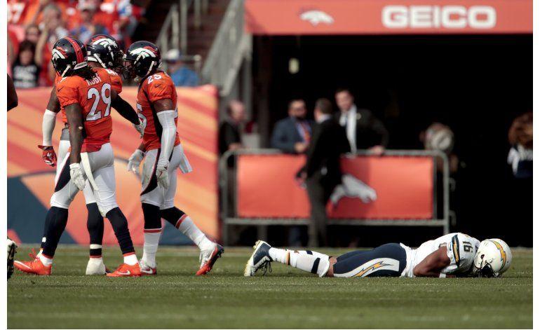 Broncos maniata a Rivers en triunfo sobre Chargers